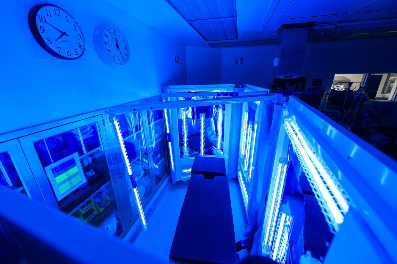 Ultraviolet Light for Disinfection