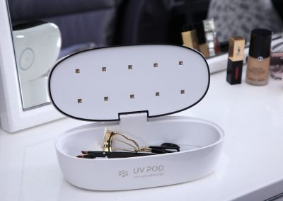 Cosmetic Tools-Oval shaped-Open
