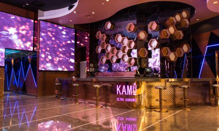 A Crazy Karaoke Lounge with 40 rooms