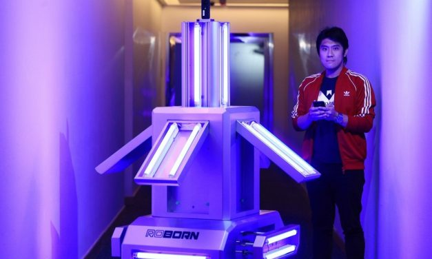 Roborn Joins The Race To Pioneer UV Light Sterilizing Robots