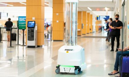 Ford Air Terminal Tests UV Robot