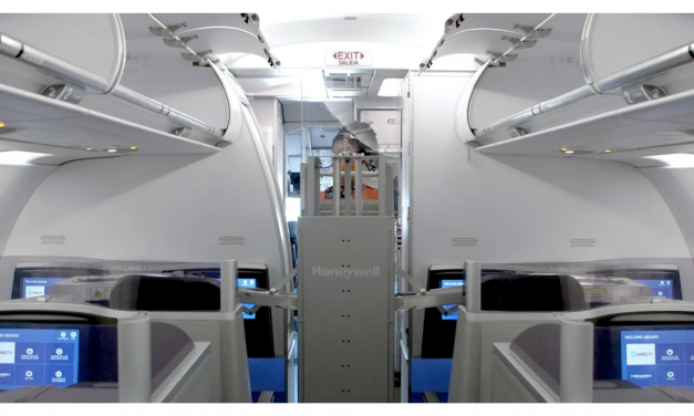 JetBlue Uses UV light Cleaning Robot to Eliminate COVID-19