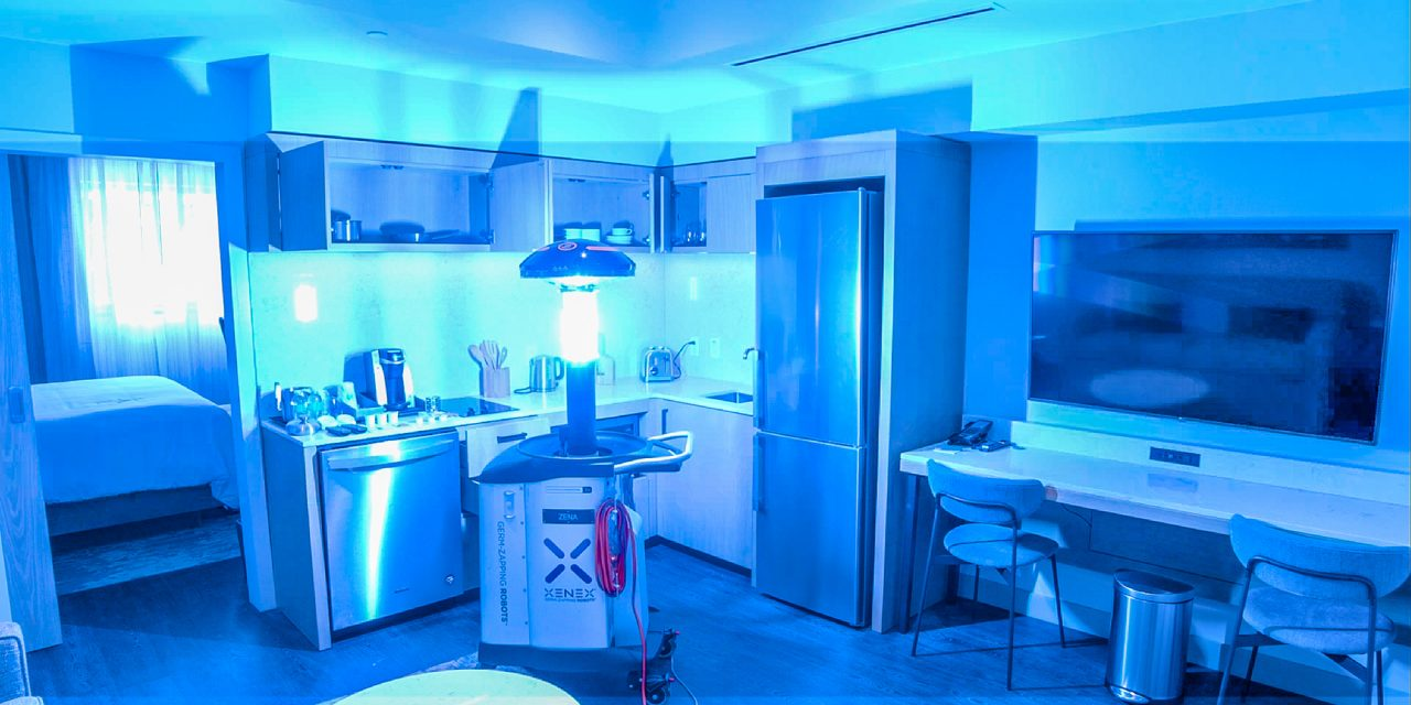 UV Blasting Robot That Can Destroy Coronavirus