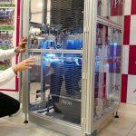 Automated Shopping Basket UV Sanitizer