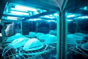 UV disinfection light